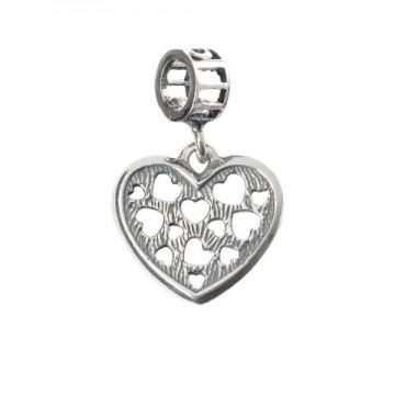 Hearts pierced in the heart