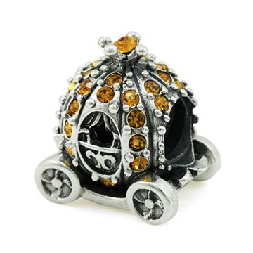 ohm beads/Pumpkin Carriage/whd102/trollbeads/pandora/retired