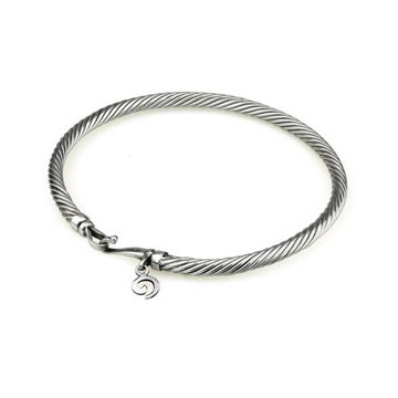 Twisted Bangle 17 cm (S)