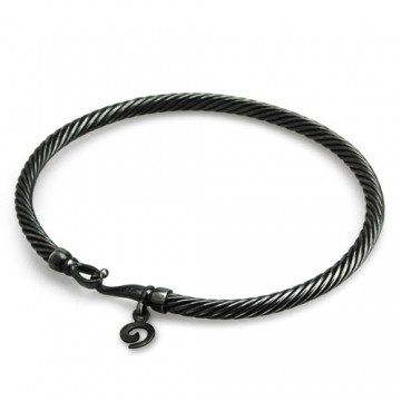 Dirty Twist Bangle 14 cm (xs)