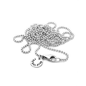 Necklace Ball Chain 90cm...