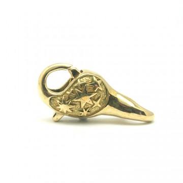 Star Lock Brass