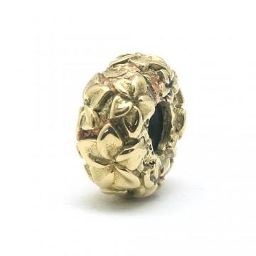 Frangipani Stopper Brass
