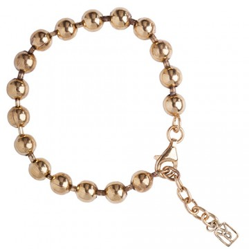 Brass Curator Ball Bracelet