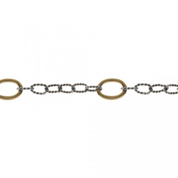 Twisted Link Brass Rings 50 cm