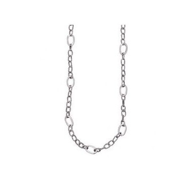 Twisted link chain silver...