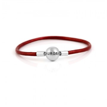 Single Leather Bracelet -...