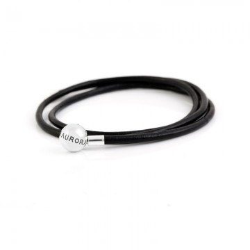 Triple Leather Bracelet -...