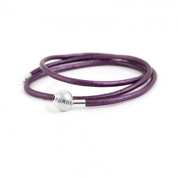 Triple Leather Bracelet -...