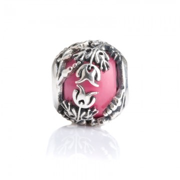 Passion - Pink Flower Bead