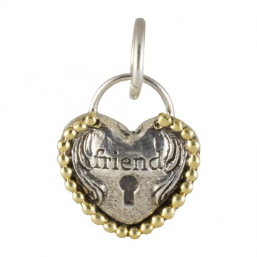 Heartlock Charm - Friend
