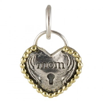Heartlock Charm - Mom