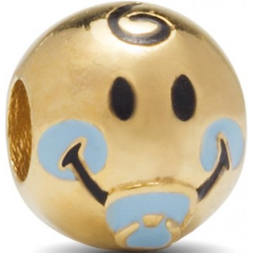 PACIFIER BOY - PLATED GOLD