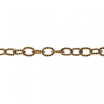 Twisted Link Chain 76 cm