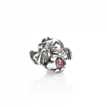 Angel with zircon pink