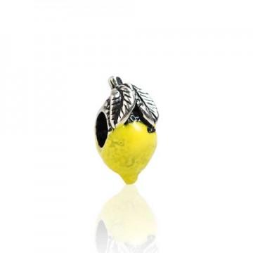 Zitrone mit Emaille