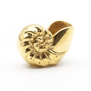 Nautilus Shell 18kt Gold