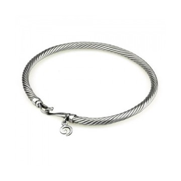 Twisted Bangle 14 cm (xs)