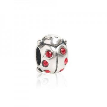 Ladybug with Swarovski