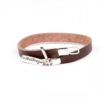 Leather Strap Bracelet -...
