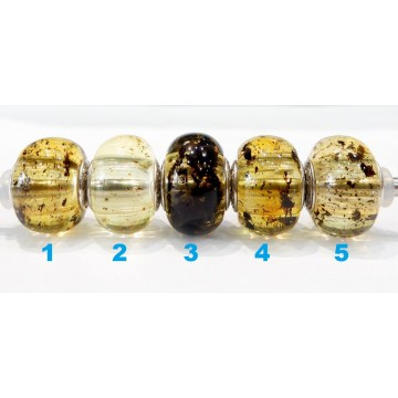 Ambers with inclusions (...