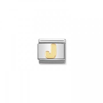 Buchstabe J Gold