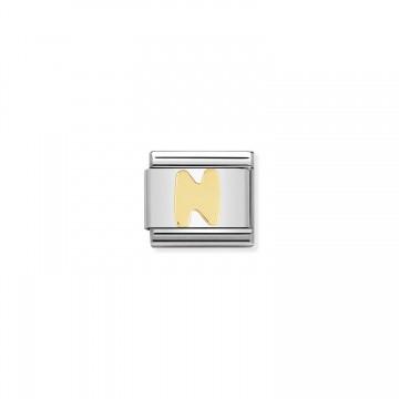 Letter N Gold