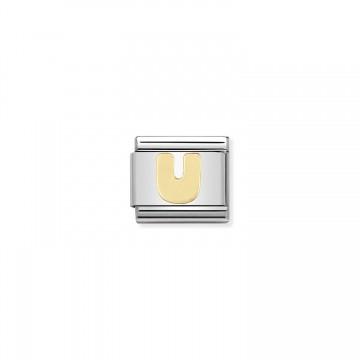 Lettera U Gold