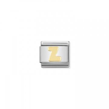 Buchstabe Z Gold