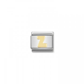 Lettera Z Gold