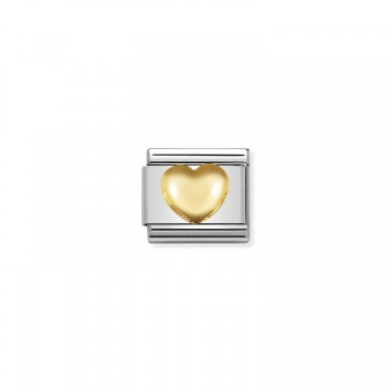 Corazón Levantado de Oro