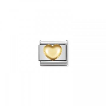 Erhöhtes Herz Gold