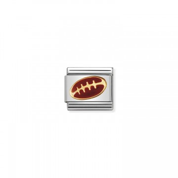 Football - Gold and Enamel