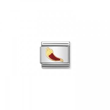 Corno Fortunato Rosso - Smalto