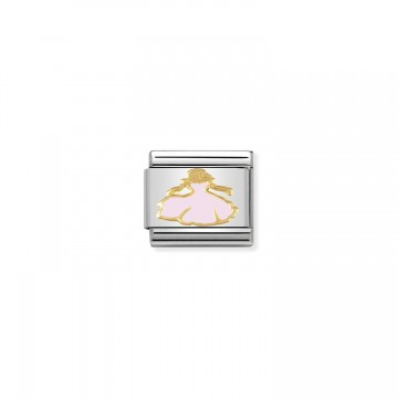 Prinzessin Gold - Emaille