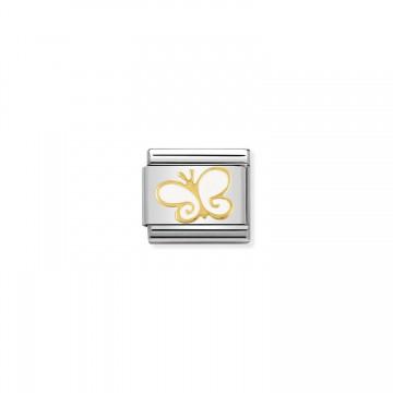 Farfalla in Oro Bianco -...