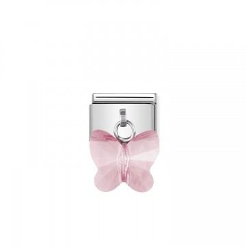 Hellrosa Schmetterling