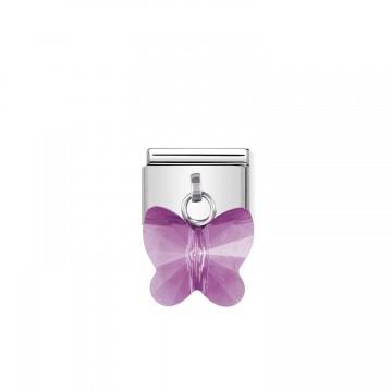 Fuchsia Schmetterling