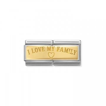 Amo a mi familia - oro