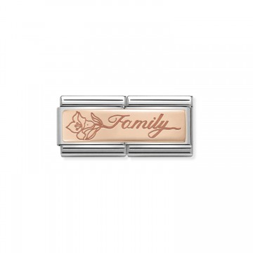 Famiglia con Fiore - Oro -...