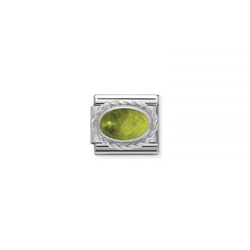 August - Silber und Peridot