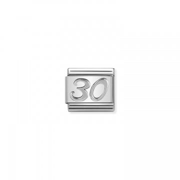 Numero 30 in Argento