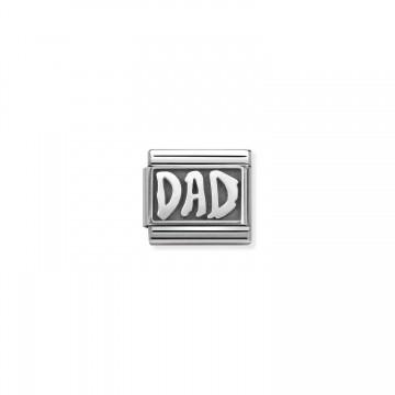 Papà - Argento Ossidato