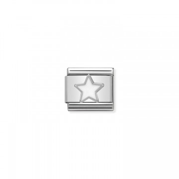 Estrella de Plata y Esmalte...