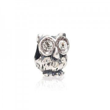 Owl with swarovski