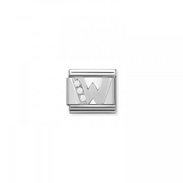 Buchstabe W - Silber und...