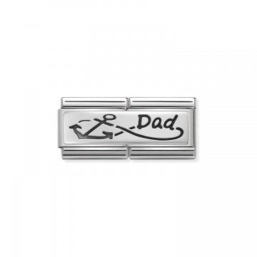 Infinity Dad - Silver and...