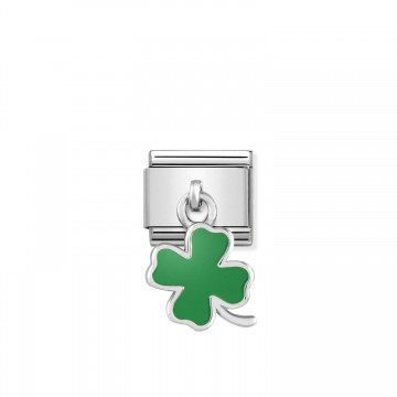 Trébol Verde de Cuatro...