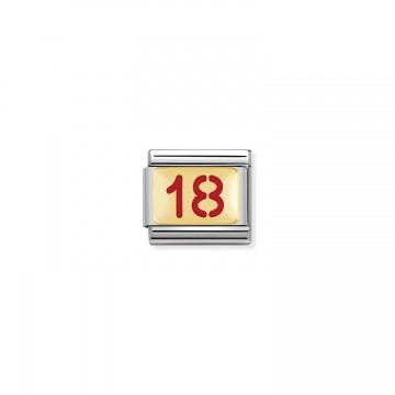 18 - Gold und Emaille