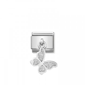 Butterfly - Silver and...